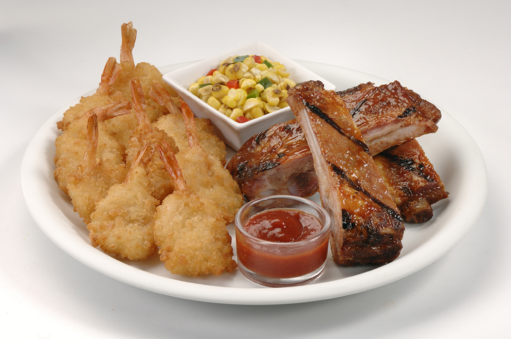 Shrimp and Ribs