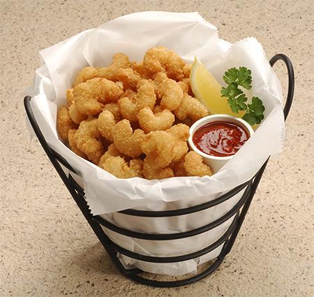 Panko Style Popcorn Shrimp