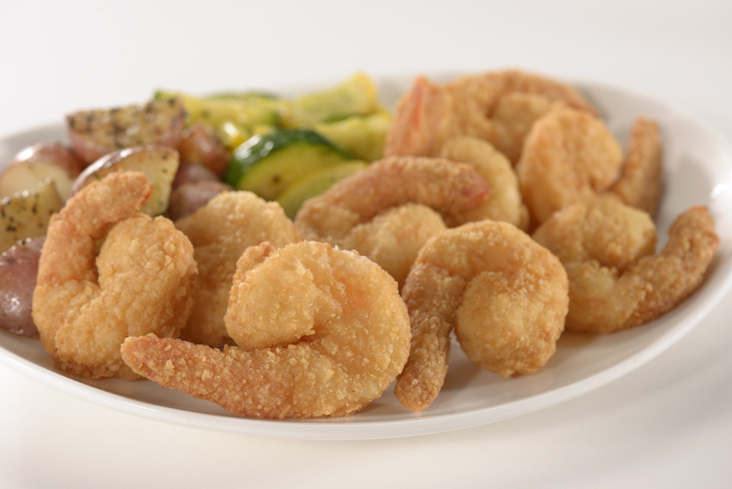 Lightly Breaded Homestyle Dinner Shrimp