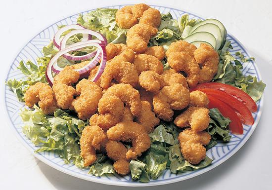 Cajun Popcorn  Shrimp