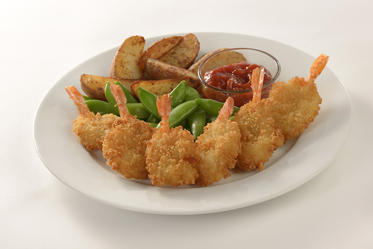 Panko Style Breaded Dinner Shrimp