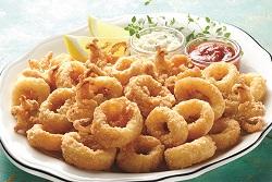 Dipt'n Dusted®  Calamari Rings
