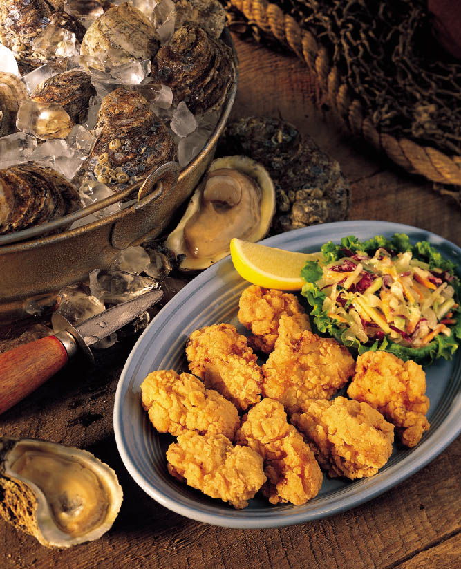 Dipt'n Dusted® Oysters