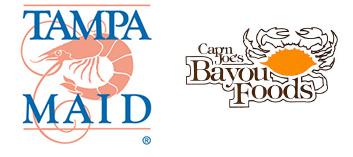 Tampa Maid and Cap'n Joe's Bayou Foods logos