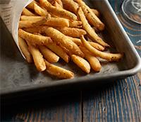 Dipt'n Dusted Pickle Fries