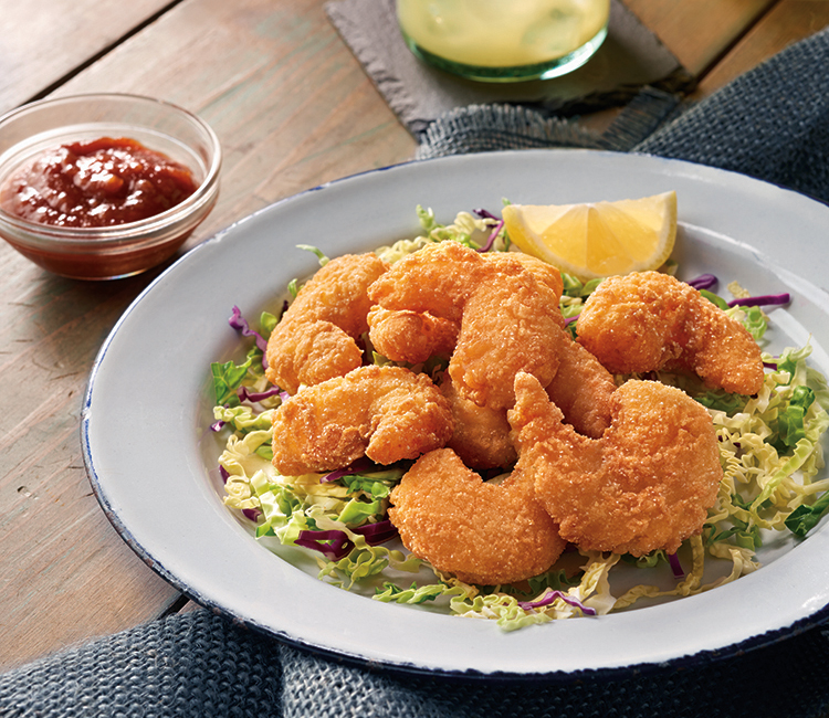 Hushpuppy Breaded Shrimp