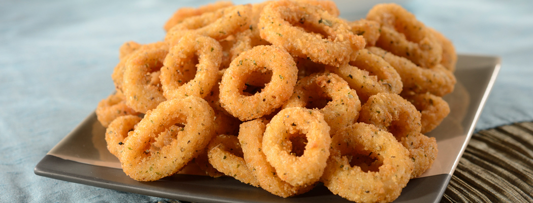 OCEAN INNOVATIONS<sup>®</sup> Italian Breaded Calamari Rings