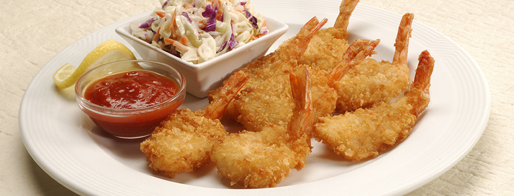 OCEAN INNOVATIONS<sup>®</sup> <br/>Lightly Breaded Homestyle Shrimp