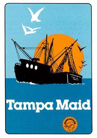 Tampa Maid 1989 logo