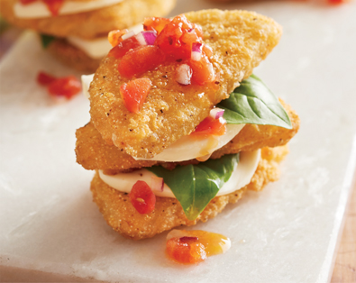 NEW Dipt'n Dusted Fried Green Tomato Halves