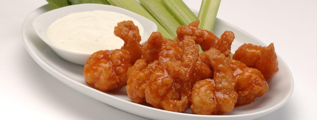 OCEAN INNOVATIONS<sup>®</sup> Buffalo Breaded Popcorn Shrimp