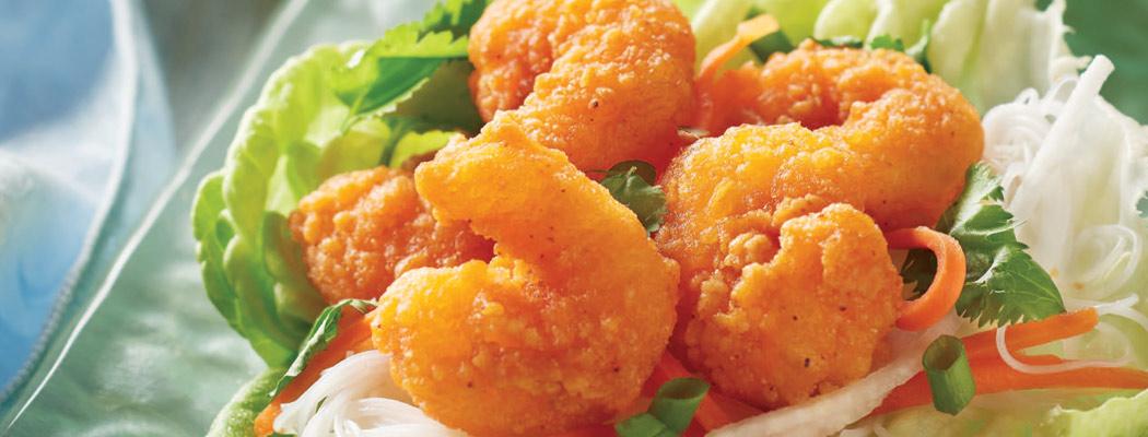 MARINER JACK<sup>®</sup>  Popcorn Shrimp & Mini Shrimp