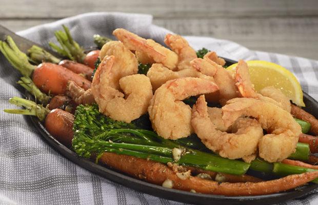 Pub-Style Parcut Shrimp