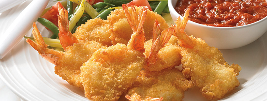 OCEAN INNOVATIONS<sup>®</sup> <br/>Golden Breaded Shrimp