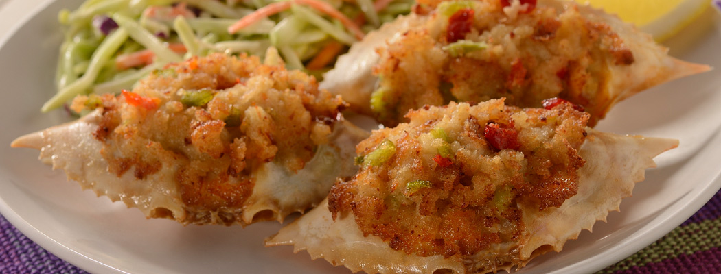 CAP'N JOE<sup>®</sup> Stuffed Crabs